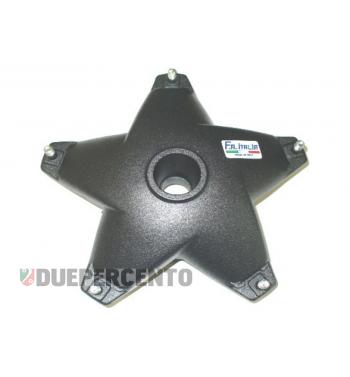 Tamburo FA ITALIA, freno a disco, anteriore, Ø 20 mm, nero per Vespa PX125-200 E `98/MY/`11