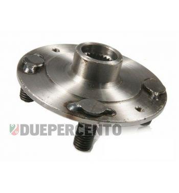 Flangia porta tamburo posteriore, con permi M10 per Vespa 125 VNB3-6T/ 150 VBB1T/ VBB2T