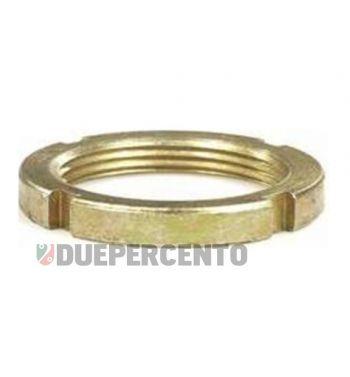 Ghiera a=5,2mm, serraggio piantone per Vespa 50/ ET3/ PK/ PX125-200/ P200E/ Rally180-200/ T5/ GTR/ TS/ 125 VM/ VN/ VNA/ 160 GS/ 180 SS