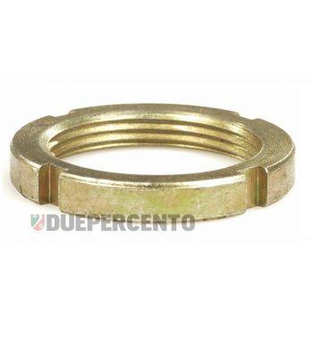 Ghiera SIP a=5,2mm, serraggio piantone per Vespa 50/ ET3/ PK/ PX125-200/ P200E/ Rally180-200/ T5/ GTR/ TS/ 125 VM/ VN/ VNA/ 160 GS/ 180 SS