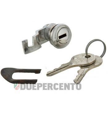 Serratura bauletto cofano per Vespa 125 VNA/ VNB/ 150 VB1/ VBA/ VBB/ VL1/ VGLA/ GL/ GS