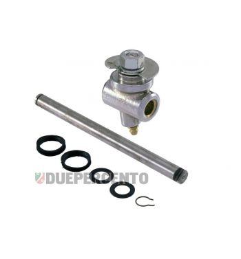 Kit snodo molla sospensione anteriore, con perno per Vespa 125 V1-15/ V30-33/ VM/ VN/ VNB/ GT/ TS/ 150VL/ VBB/ Sprint/ Rally 180-200