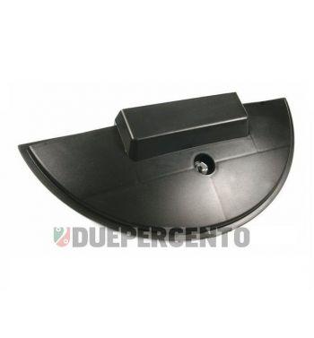 Copriruota di scorta, in plastica, nero, per Vespa PX125-200/ P200E/ Lusso/ T5