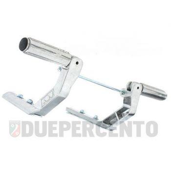 Poggiapiedi FA ITALIA per Vespa 50/ 50 Specil/ PV/ ET3/ PK/ XL/ PX/ T5/ GTR/ TS/ GL