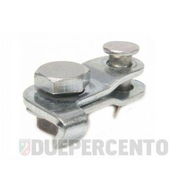 Morsetto freno anteriore per Vespa 50/ 50 Special/ ET3/ PV/ PK/ V1-33/ VM/ VN/ VL/ VB/ GS/ VNA/ TS/ GT/ GTR/ Sprint/ Rally/ SS180/ PX125-200/ PE