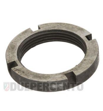 Ghiera a=7.5mm, serraggio cuscinetto piantone per Vespa 50/ ET3/ PK/ PX125-200/ P200E/ Rally180-200/ T5/ GTR/ TS/ 125 VM/ VN/ VNA/ 160 GS/ 180 SS