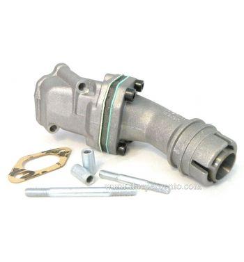 Collettore aspirazione lamellare 2 fori POLINI 19mm per Vespa 50/ 50 special/ ET3/ primavera