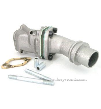 Collettore aspirazione lamellare 2 fori POLINI 24mm per Vespa 50/50 Special/125 ET3/Primavera