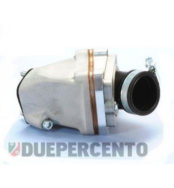 Collettore POLINI 24-30mm lamellare al carter 2 fori per cilindro girato per Vespa 50/ 50 Special/ ET3/ Primavera