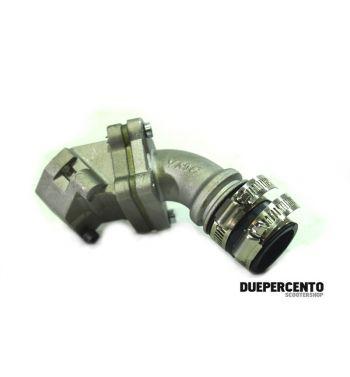 Collettore VMC 25mm lamellare al carter 3 fori per carburatore 24/25mm per vespa PK50-125/ S/ ETS