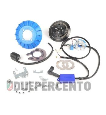 Accensione elettronica POLINI digitale cono 20mm, 1,1Kg Vespa PK 50-125/ S/ XL/ XL2/ FL/ HP/ N/ Rush