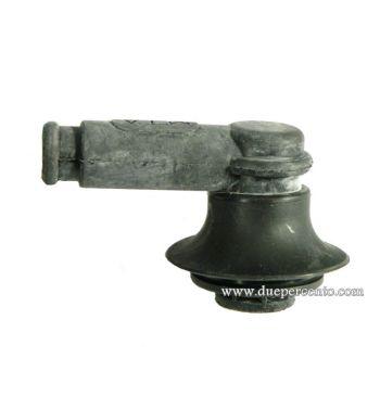 Pipetta candela POLINI rivestita in gomma, nero, 90°per candela M14