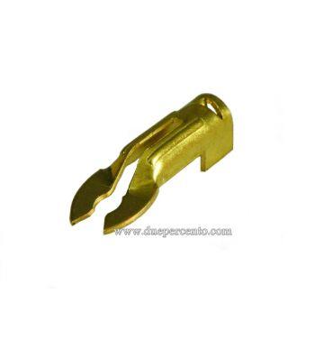 Forchetta attacco candela Vespa 50/ 50 Special/ ET3/ Primavera/ PK50-125/ S/ XL/ XL2/ ETS/ PX125-200/ P200E/ Rally180-200/ T5/ GTR/ TS/ Sprint