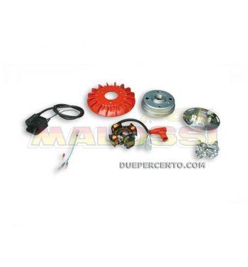 Accensione elettronica MALOSSI MHR VESPower MKII - 0,9Kg - per Vespa PX125-200/ P200E/ Lusso/ Cosa/ 125 GTR/ TS/ 150 Sprint Veloce/ 200 Rally