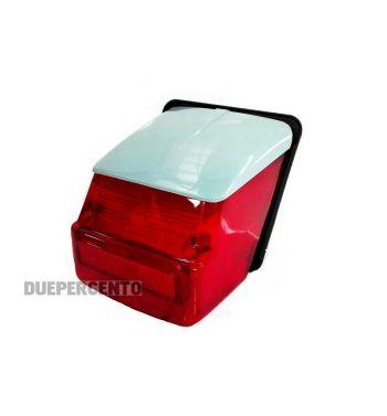 Fanale posteriore BOSATTA tettuccio grigio per Vespa  Rally180-200/ GTR/ TS/ Sprint