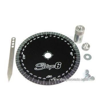Disco graduato STAGE6 in alluminio