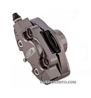 Pinza freno SIP 2 pistoncini Ø 31,5 mm, titanio anodizzato Vespa PX '98/ MY/ '11 kit GRIMECA