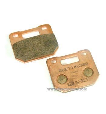 Pastiglie freno R&D sinterizzate per pinza STAGE6 R/T 4 pistoncini