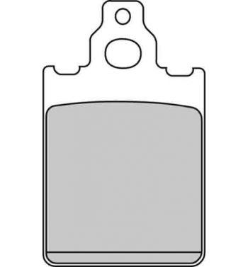 Pastiglie freno anteriore FERODO Eco Friction per Vespa PX 125-200 freno a disco - S21