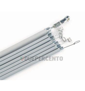 Kit cavi e guaine, SIP PREMIUM, con guaina PTFE per Vespa P125-150X/ PX125-200E / P150S/ P200E