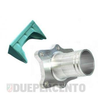 Collettore aspirazione FABBRI RACING 39mm, 6 fori, per cilindri lamellari Quattrini