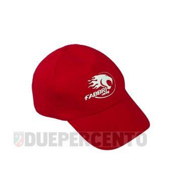 Cappellino rosso FABBRI RACING