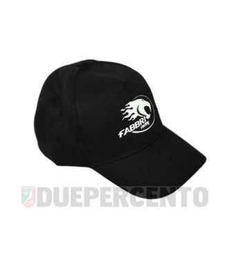 Cappellino nero FABBRI RACING