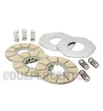 Dischi frizione SURFLEX 3 dischi in sughero, 2 infradisco, 6 molle per Lambretta 125 A/B/C/LC/D/LD/150 D/LD