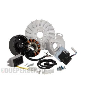 Accensione elettronica SIP PERFORMANCE SPORT 1,650Kg, DC, anticipo variabile per Lambretta DL/GP