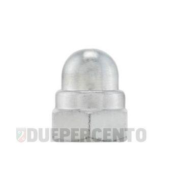 Dado autobloccante M8 mm, dado cieco, chiave 13mm, a=20,0mm, per cerchio Lambretta