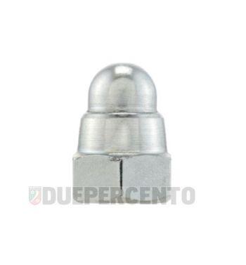 Dado autobloccante M8 mm, dado cieco, chiave 14mm, a=20,0mm, per cerchio Lambretta