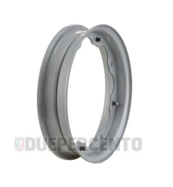 Cerchio SCOOTOPIA 2.10-10 grigio metalizzato per Lambretta 125 LI/Special/GP/DL/150 LI/Special/SX/GP/175 TV/200 TV/SX/GP/DL