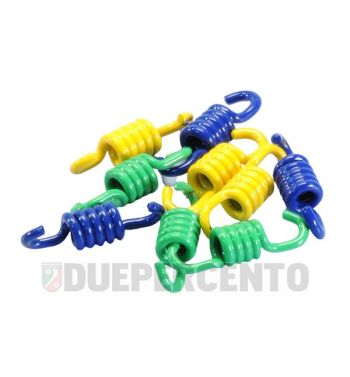 Molle frizione POLINI Racing per Speed Clutch 3G, verde/giallo/blu