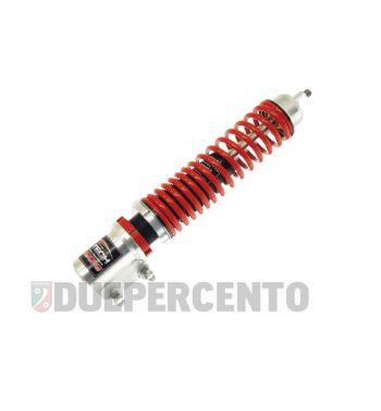 Ammortizzatore anteriore CARBONE HI TECH corpo argento, molla rossa per Vespa GTS/GTS Super/GTV/GT60/GT/GT L 125-300cc