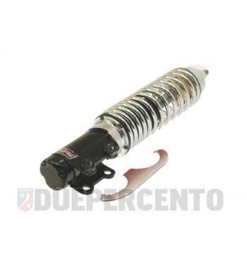 Ammortizzatore anteriore CARBONE corpo nero, molla cromata per Vespa ET2/ET4/LX/LXV/S 50-150cc