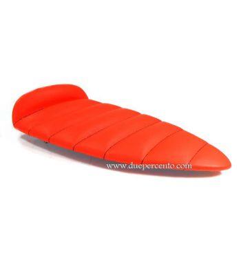 Cuscino sella SIP arancio, trapuntato per sella SIP Sport largeframe per Vespa PX125-200/ P200E / Arcobaleno/ `98/ MY/ `11