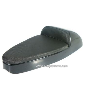 Sella sportiva CORSA in ABS cuscino nero per Vespa GTR/ TS/ Sprint/ VBA/ PX125-150/ PE200/ MY
