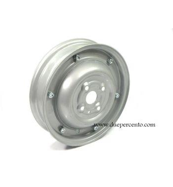 """Cerchio chiuso grigio 1.80-9"""", per Vespa 50 N/L/R"""