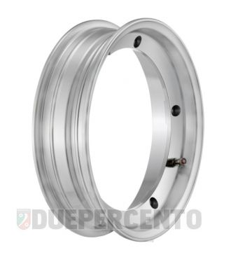Cerchio in lega tubeless 2.0 SIP PERFORMANCE 2.50-10 alluminio lucido per Vespa 50/ 50 special/ ET3/ PX125-200/ P200E/ Rally 180-200/ T5/ GTR/ TS/ Sprint