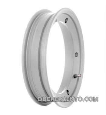 Cerchio in lega tubeless 2.0 SIP PERFORMANCE 2.10-10 grigio per Vespa 50/ 50 special/ ET3/ PX125-200/ P200E/ Rally 180-200/ T5/ GTR/ TS/ Sprint