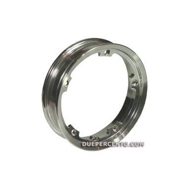 Cerchio in lega TUBELESS F.A.ITALIA 2.10-10 alluminio lucido per Vespa 50/ 50 special/ ET3/ PX125-200/ P200E/ Rally 180-200/ T5/ GTR/ TS/ Sprint