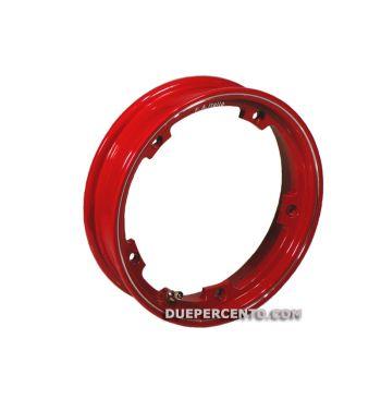 Cerchio in lega TUBELESS F.A.ITALIA 2.10-10 rosso per Vespa 50/ 50 special/ ET3/ PX125-200/ P200E/ Rally 180-200/ T5/ GTR/ TS/ Sprint