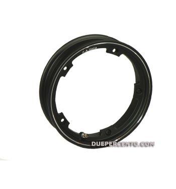 Cerchio in lega tubeless FA ITALIA 2.10-10 nero per Vespa 50/ 50 special/ ET3/ PX125-200/ P200E/ Rally 180-200/ T5/ GTR/ TS/ Sprint