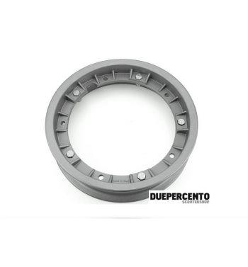 """Cerchio in lega FA ITALIA """"RUSH"""" grigio sabbiato 2.10-10 - scomponibile per Vespa 50/ 50 special/ ET3/ PX125-200/ P200E/ Rally 180-200/ T5/ GTR/ TS/ Sprint"""