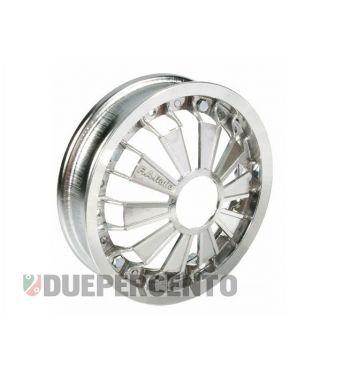 """Cerchio in lega FA ITALIA """"RACING"""" cromato 2.10-10 - scomponibile per Vespa 50/ 50 special/ ET3/ PX125-200/ P200E/ Rally 180-200/ T5/ GTR/ TS/ Sprint"""