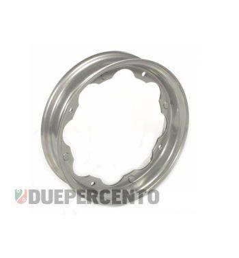 Cerchio FA ITALIA 2.10-10 grigio metalizzato per Lambretta 125 LI/Special/GP/DL/150 LI/Special/SX/GP/175 TV/200 TV/SX/GP/DL