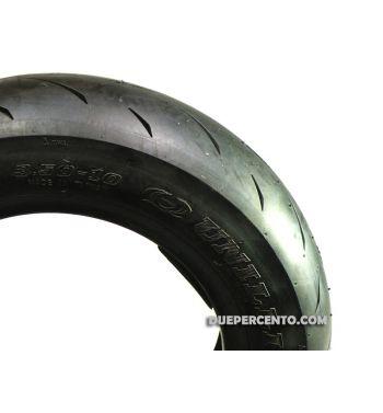 """Pneumatico UNILLI mod.558A PRO2 Soft Racing 100/90-10"""", Tubeless"""