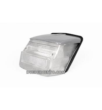 Fanale posteriore BOSATTA per Vespa 125 GTR/TS/150 SprintV/180-200 Rally - bianco tettuccio grigio