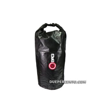 Borsa a tubo portapacchi 40 l, impermeabile, nero