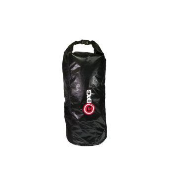 Borsa a tubo portapacchi 65 l, impermeabile, nero